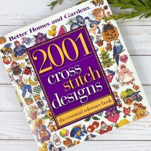 Better Homes & Gardens 2001 Cross Stitch Designs